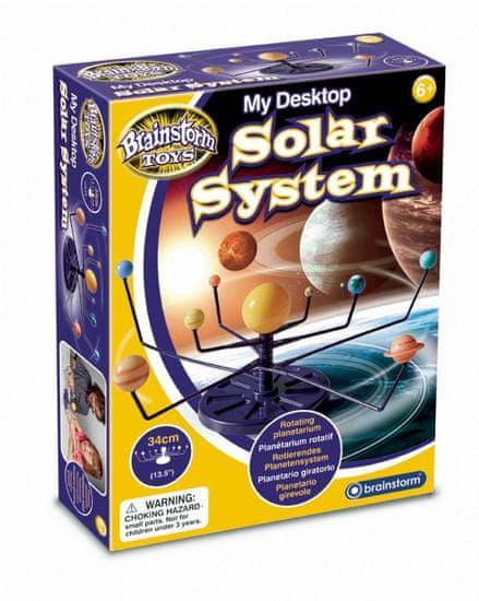 Brainstorm Toys Stolní model sluneční soustavy