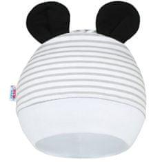 NEW BABY Dětská čepička New Baby Panda - 56/62