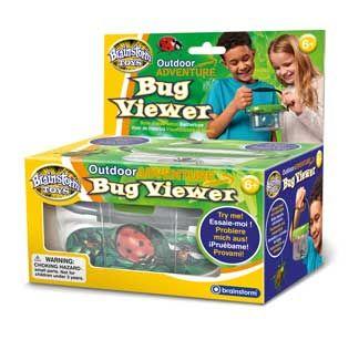 Brainstorm Toys Outdoor Adventure - Oválná nádoba na brouky s lupou
