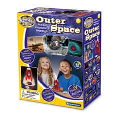 Brainstorm Toys Raketka projektor a noční světlo