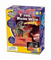 Brainstorm Toys T-Rex bzučákové bludiště 2v1