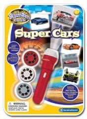 Brainstorm Toys Ruční foto projektor - Super auta
