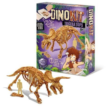 Buki France DinoKIT vykopávka a kostra Triceratops