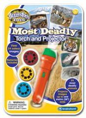 Brainstorm Toys Ruční foto projektor - Nebezpečná zvířata