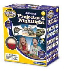 Brainstorm Toys Dinosauří projektor a noční světlo