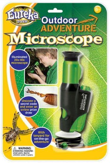 Brainstorm Toys Outdoor Adventure - Mikroskop 20-40x zoom