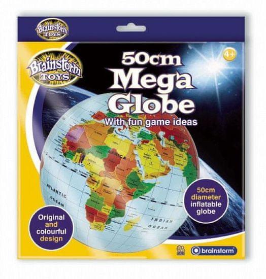 Brainstorm Toys Nafukovací globus 50cm - Zeměkoule