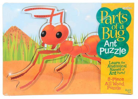 Insect Lore Dřevěné puzzle - mravenec