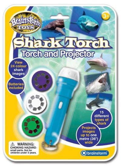 Brainstorm Toys Ruční foto projektor - Žraloci
