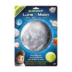 Buki France 3D Měsíc svítící dekorace na zeď