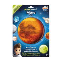 Buki France 3D Mars svítící dekorace na zeď
