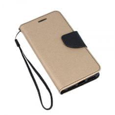 Havana Fancy Diary preklopna maska za Samsung Galaxy A20e A202, zlatno crna