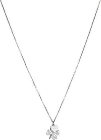 Liu Jo Jeklena ogrlica s štirinožno deteljo LJ1403