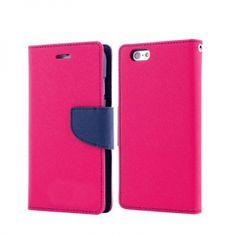 Havana Fancy Diary preklopna maska za Samsung Galaxy A70 A705, rozo plava.
