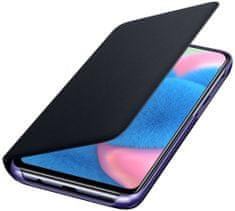 Samsung EF-WA307PB Wallet Cover Galaxy A30s, Black, EF-WA307PBEGWW