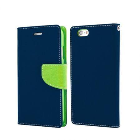 Havana Fancy Diary preklopna maska za Samsung Galaxy A70 A705, plavo zelena.