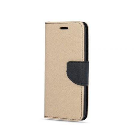 Havana Fancy Diary preklopna torbica za Samsung Galaxy A70 A705, zlato črna