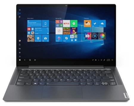 Lenovo IdeaPad Yoga S740 prenosnik, 14''FHD i5-1035G4 8/512 W10, siv