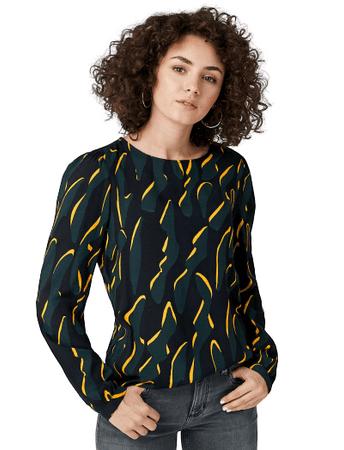 Q/S designed by női blúz 41.910.11.2110, 38, fekete