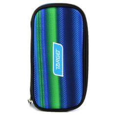 Target Šolska škatla za svinčnike brez refill, Kompaktna, zeleno-modra z vzorcem