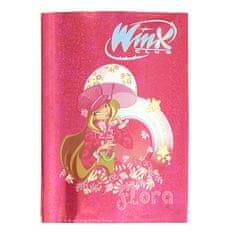 Winx Club Obal na zošity A5 Winx Club, Obal na zošity A5 Flora dáždnik