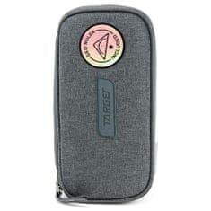 Target Školský peračník bez náplne , Compact Geo, s pravítkom, šedý