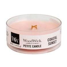 Woodwick Drobná svíčka WoodWick, Západ slunce na pobřeží, 31 g