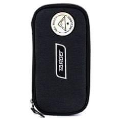 Target Šolska škatla za svinčnike brez Target refill, Kompakten Geo, z ravnilom, črnim, belim logotipom