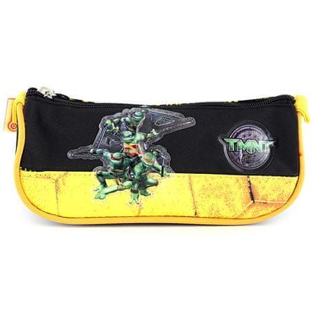 Target Torbica za svinčnike TMNT, črna / rumena z motivom želve Ninja