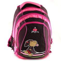 NICI Iskolai hátizsák 2in1 , nyelvét nyújtogató juhocska