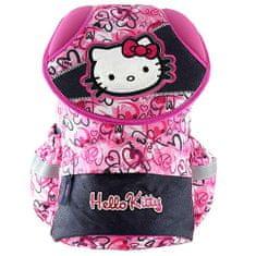Hello Kitty Školní batoh , motiv srdíček