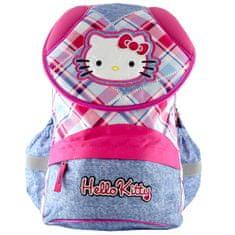 Hello Kitty Školský plecniak , motív jeans