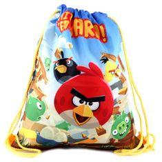 Target Športový vak , Modrý/motív Angry Birds