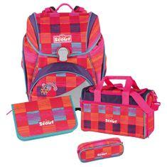 Scout Cserkésziskola készlet, 4 darabos - alfa, rózsaszín szivárvány
