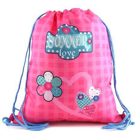 Target Ciljna športna torba, Poletna ljubezen, barva roza