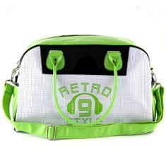 Target Cestovná taška , zeleno-biela