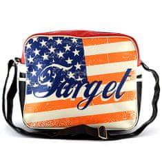 Target Taška přes rameno , motiv vlajky USA
