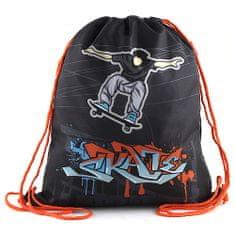 Target Ciljna športna torba, Skate, črna barva