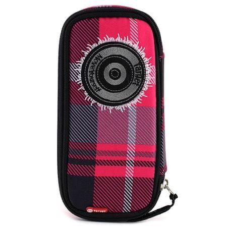 Target Iskolai tolltartó , rózsaszín-fekete