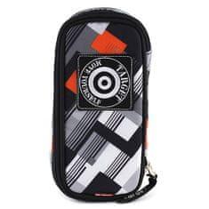 Target Ciljna šalica s svinčnikom, črno-sivo-oranžna