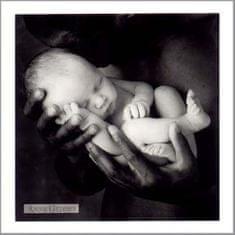 Anne Geddes Blahopřání , ČB černoch a bílé dítě