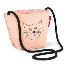 Reisenthel Taška přes rameno , Kočička a pejsek, růžová | minibag kids