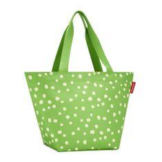 Reisenthel Torba na zakupy , Zielony w kropki klient M