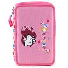 Hello Kitty Školský peračník s náplňou , ružový, motív srdce