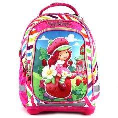 Cool Školní batoh Strawberry Shortcake, motiv dívky a jahod
