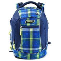 Target Ciljni nahrbtnik za učence, Progasti, zeleno-modri
