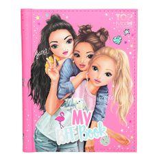 Top Model Kniha přátelství , Janet, Fergie a Candy, se samolepkami, 110 stran