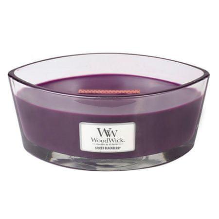 Woodwick Dekorativna vaza za sveče , Pikantna robida, 453,6 g