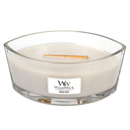 Woodwick Dekoratív gyertyaváza WoodWick, Meleg gyapjú, 453,6 g