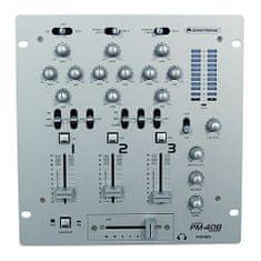 Omnitronic Mixážny pult , PM-408, 3-kanálový mixážny pult